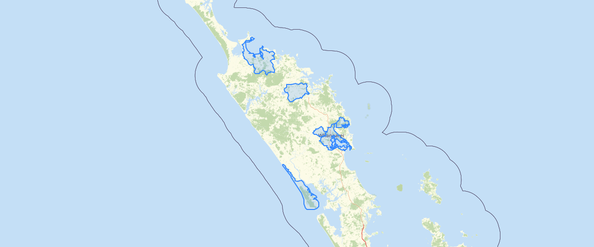 NRC Waiora Northland Priority Catchments