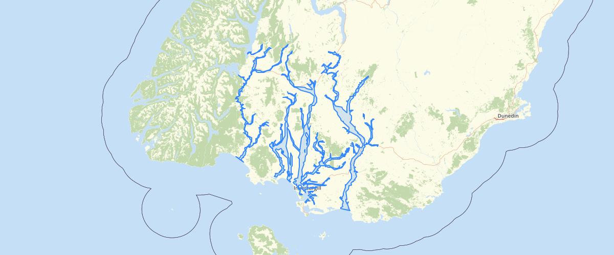 Southland - Significant Floodplains