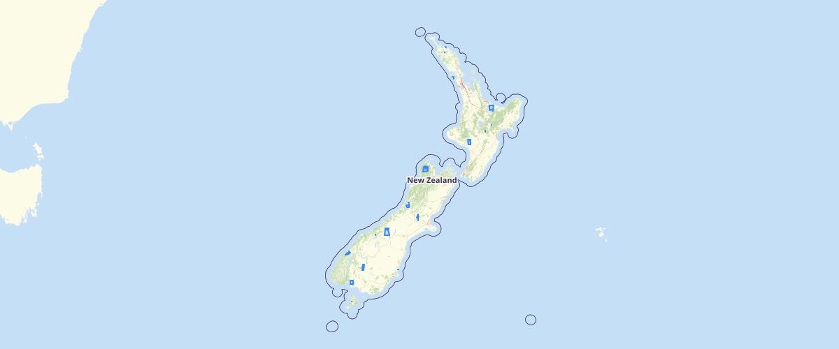 Spot Maps 2014 footprints