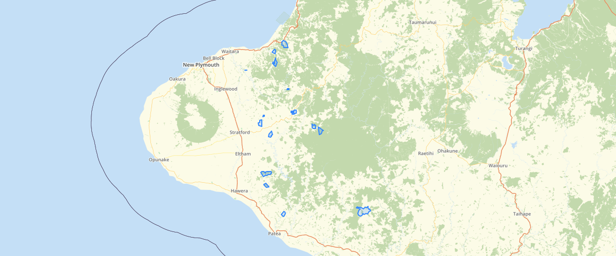 Taranaki Hill Country Plan Boundaries - Taranaki Regional Council