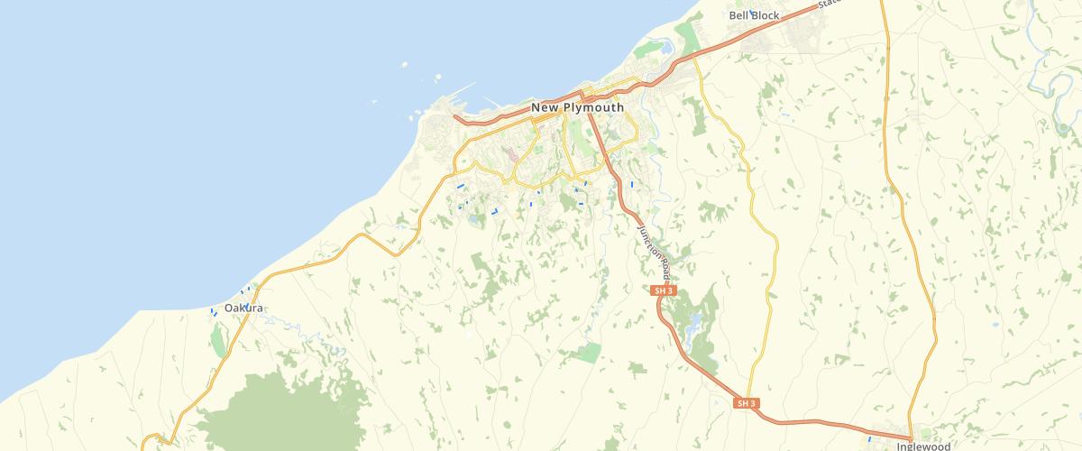 Taranaki Roading Hierarchy - New Plymouth District Council