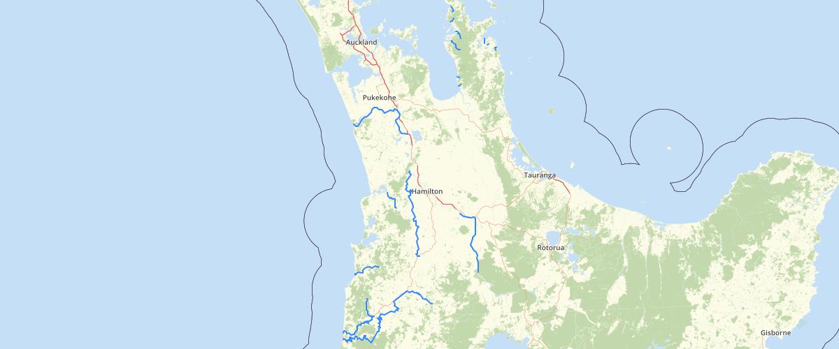 Waikato Assets Channels - Waikato Regional Council