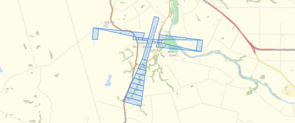 Waikato DP Airport Obstacle Limitation Surface - Waikato District Council