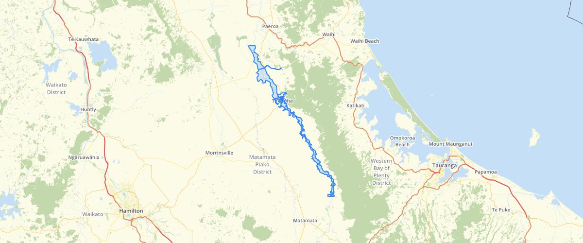 Waikato Flood Zone - Matamata Piako District Council