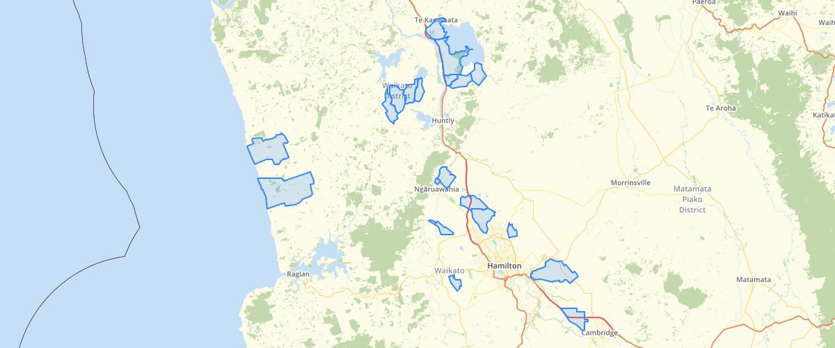 Waikato Land Drainage Schemes Schemes - Waikato Regional Council