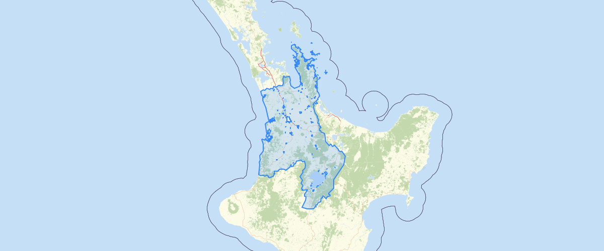 Waikato Rural Boundaries - Waikato Regional Council