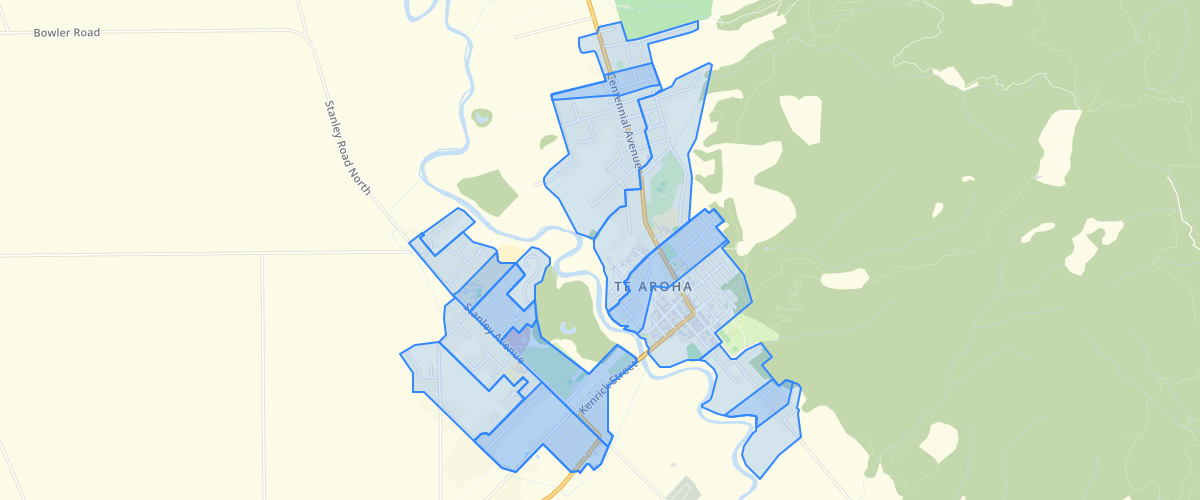 Waikato Stormwater Catchment Te Aroha - Matamata Piako District Council