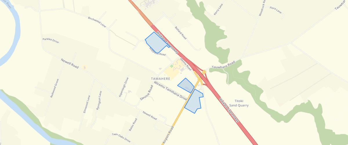 Waikato Tamahere Commercial Area - Waikato District Council