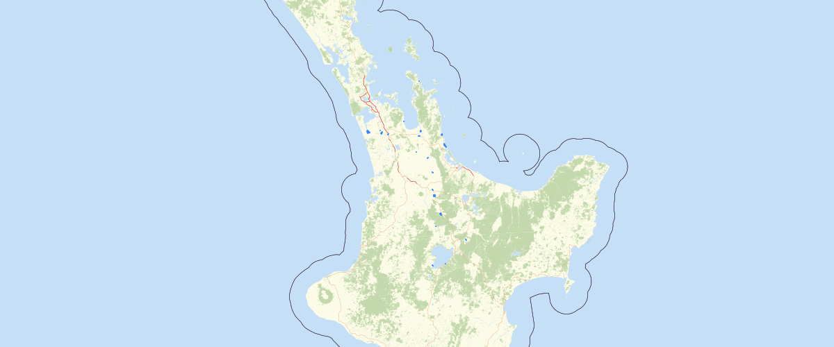 Waikato Urban Boundaries - Waikato Regional Council