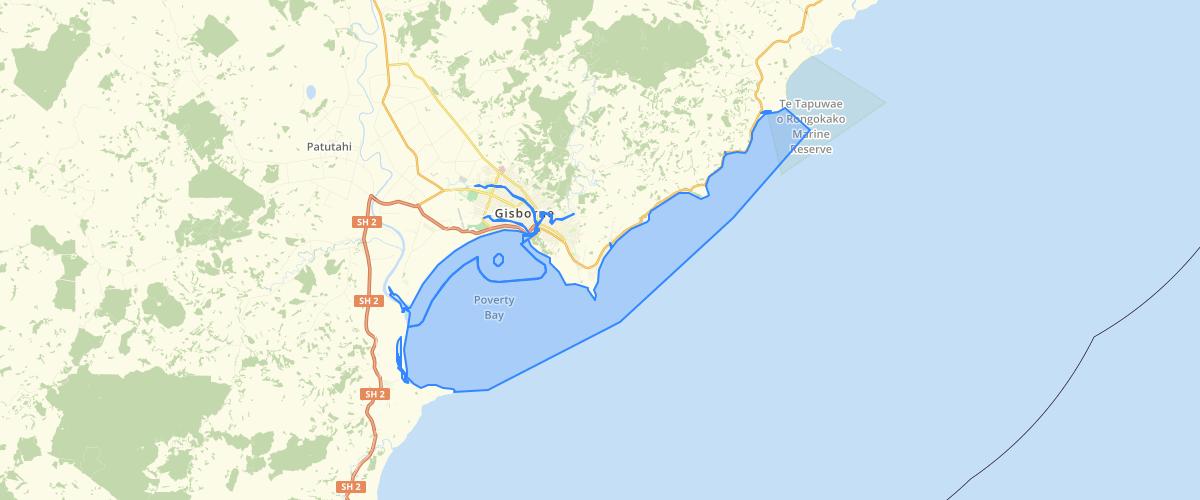 Gisborne Water Classification Zones