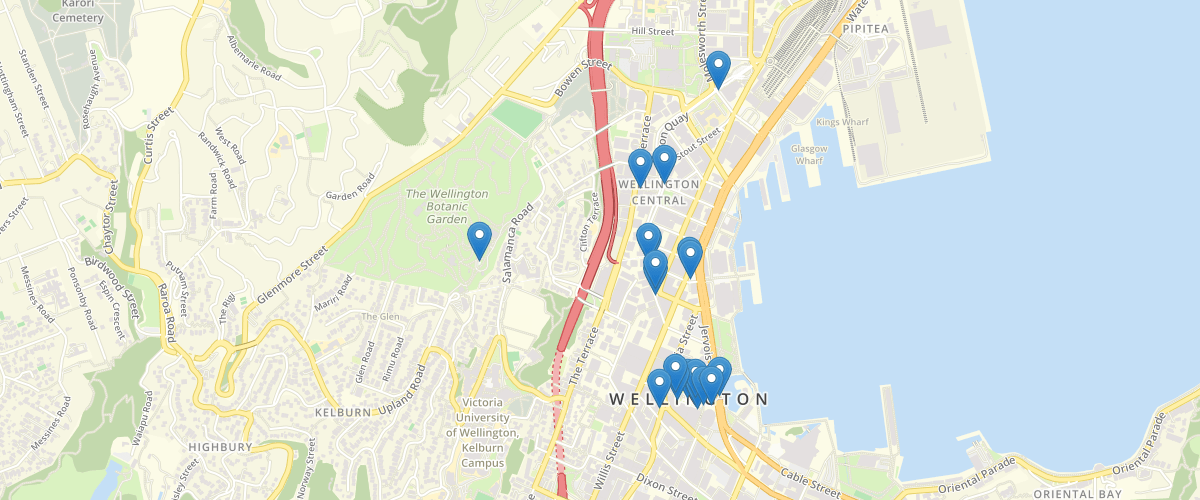 Wellington City Sculptures