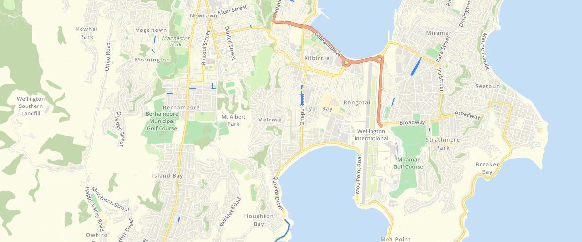 Wellington Footpath Renewals