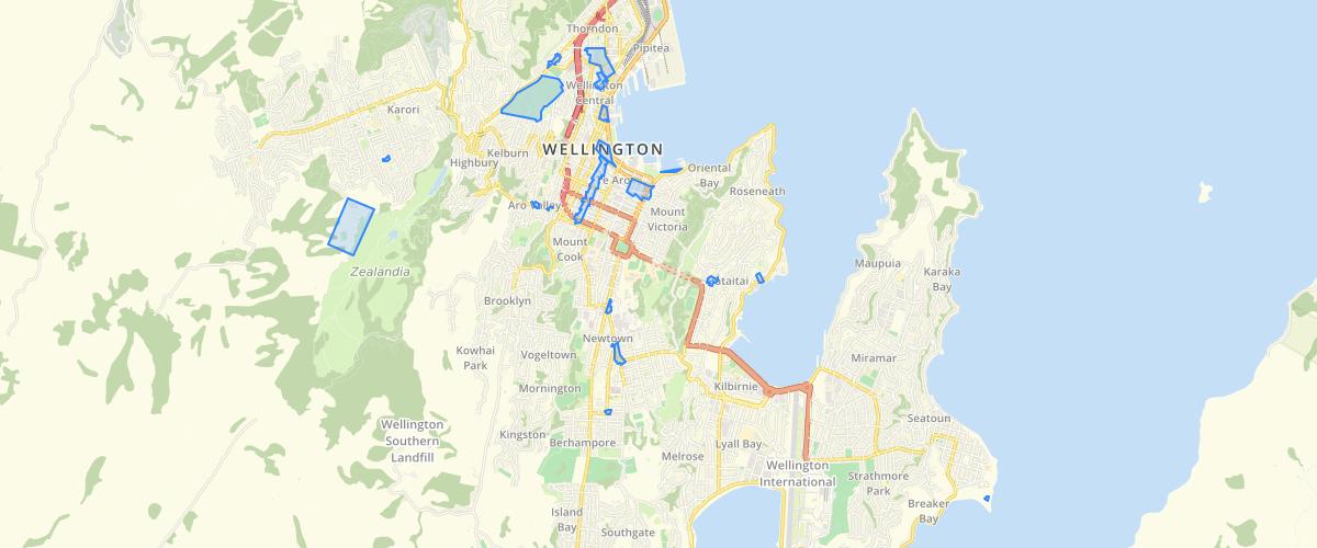 Wellington Heritage Areas