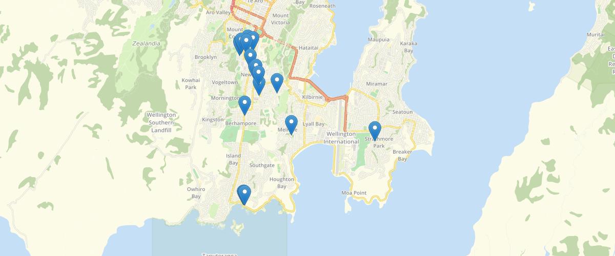 Wellington Heritage Buildings