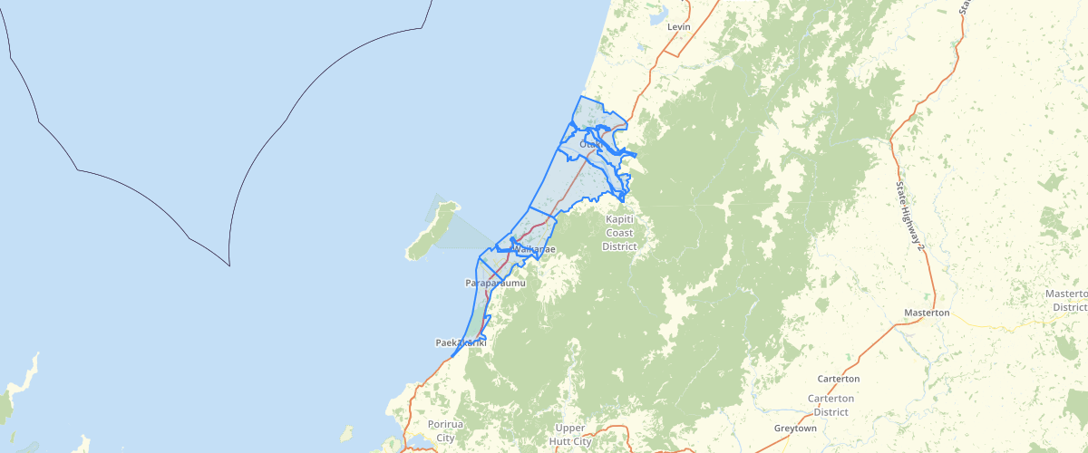 Wellington Regional Council Groundwater Zones for Kapiti Tables 10.2 10.3