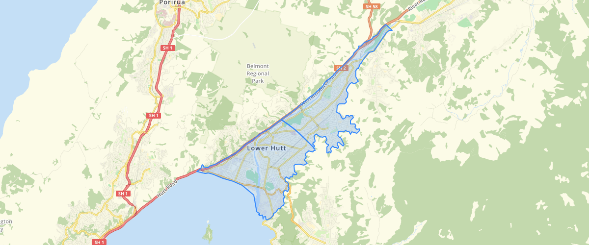 Wellington Regional Council Groundwater Zones for Lower Hutt Tables 8.2 8.3