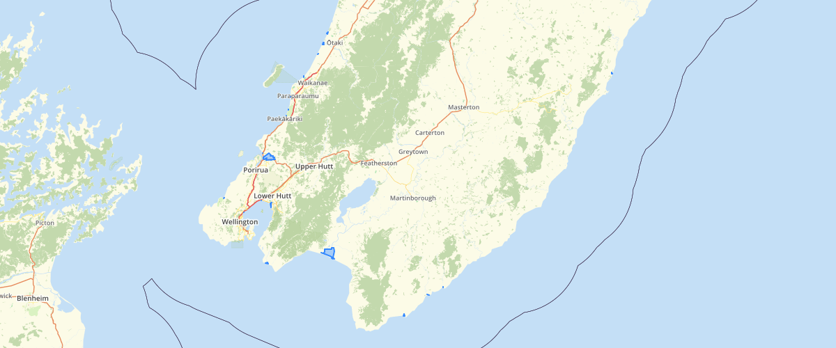 Wellington Regional Council NRP Category 1 Surface Waterbodies