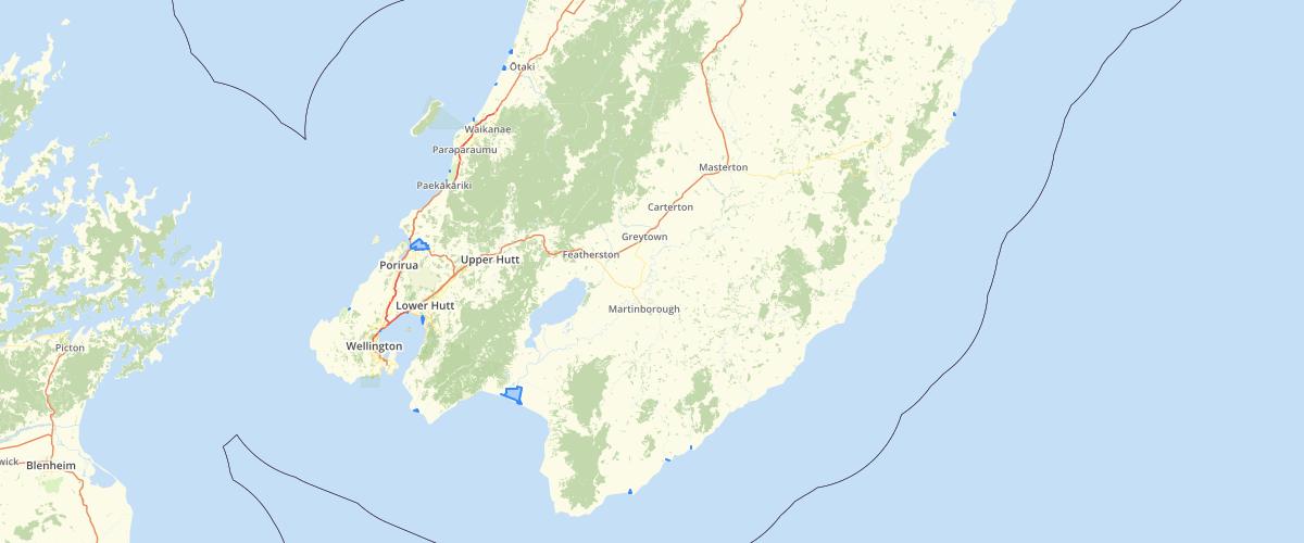 Wellington Regional Council NRP Schedule F4 Indigenous Biodiversity Coastal