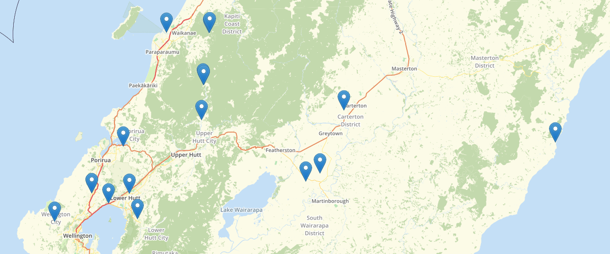 Wellington Regional Council Structures in Rivers