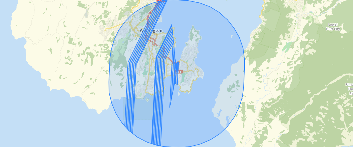 Wellington Regional Council Wellington Airport Height Restriction Areas