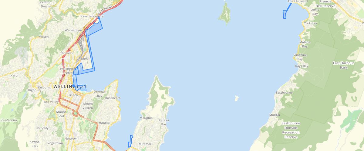 Wellington Regional Council Wellington Harbour Commercial Port Areas