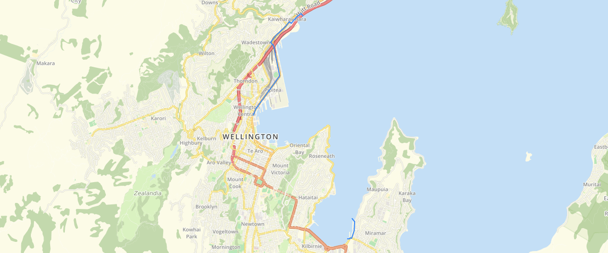 Wellington Regional Council Wellington Harbour Noise Control Boundary
