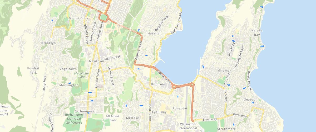 Wellington Unformed Roads