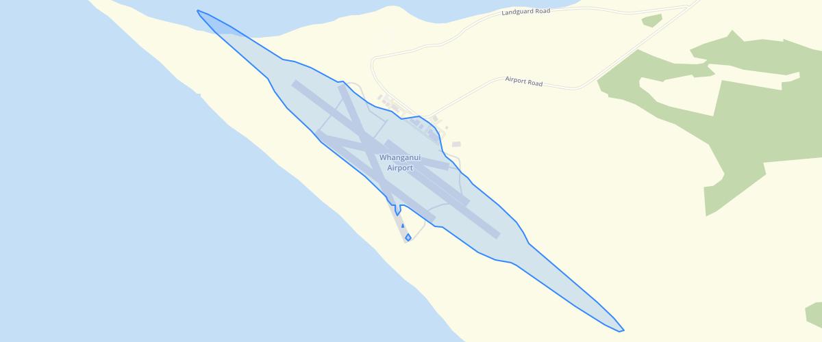 Whanganui - Airport Noise Boundary Overlay