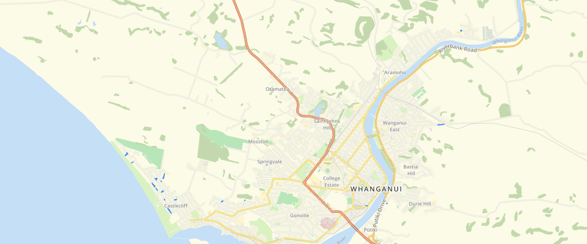Whanganui - Lawn Mowing Contract Areas 2019