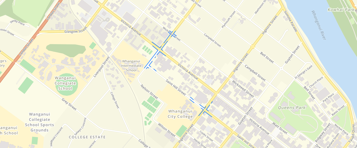 Whanganui - Operative Parking Zones 2020