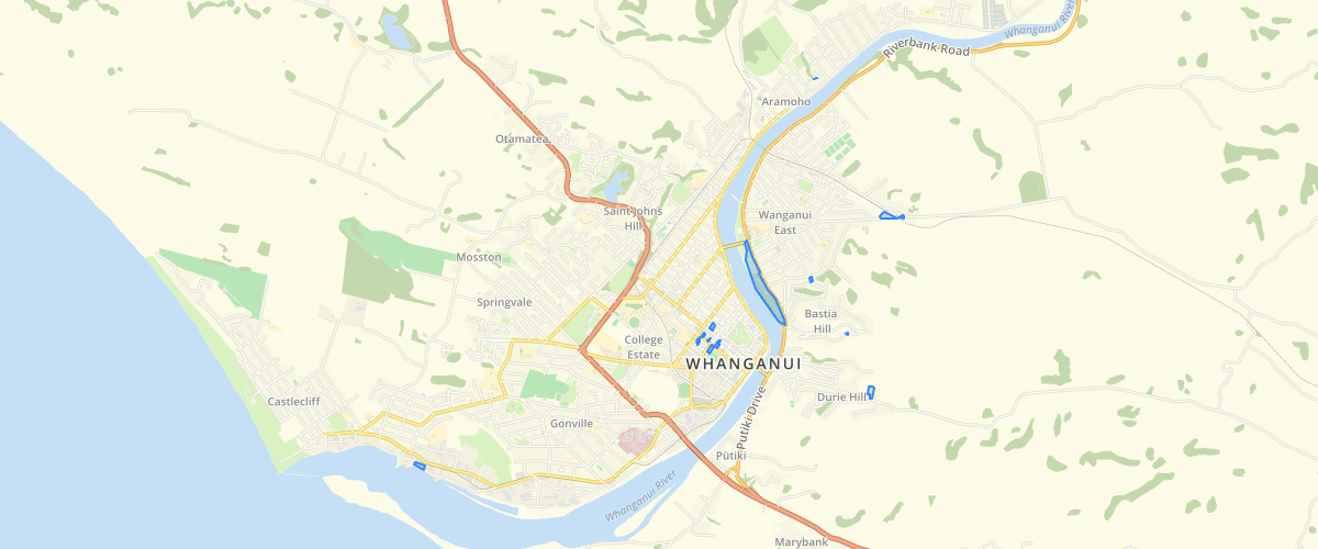 Whanganui - Planning Property Designations