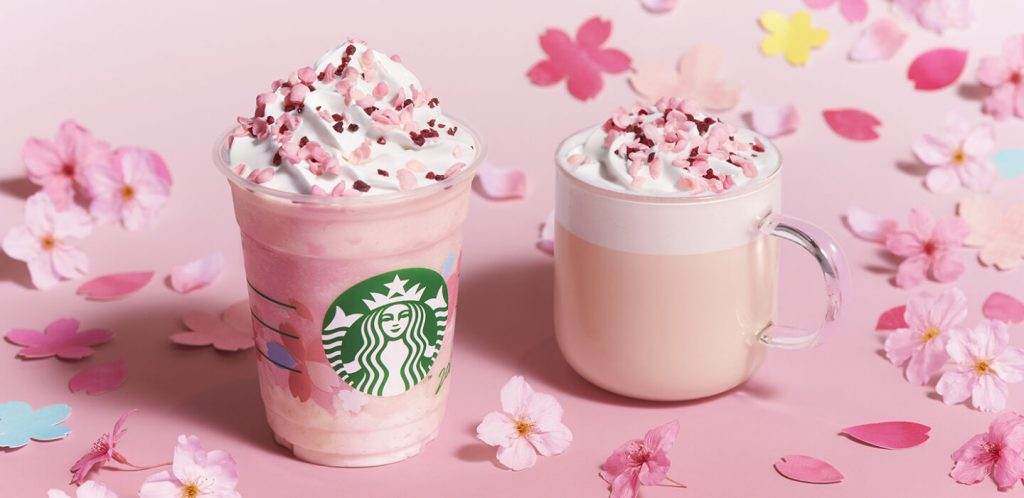 starbucks sakura flowers estrategia social media