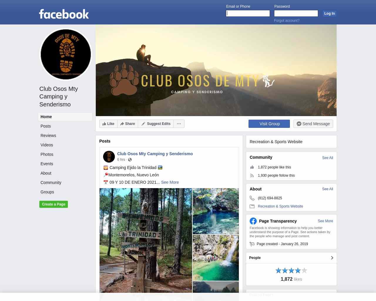 Club Osos Mty Camping y Senderismo - Home | Facebook