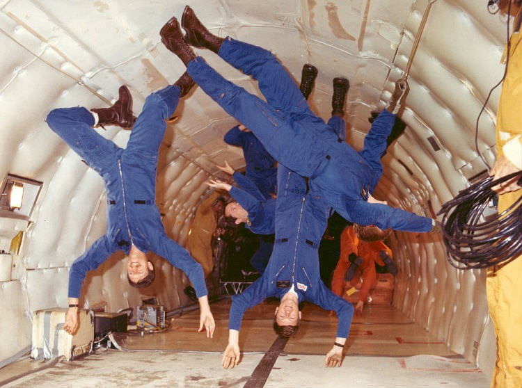 Astronaut Zero-G Training