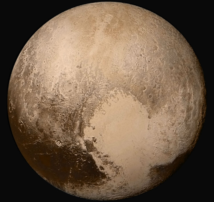 Pluto's big, beautiful heart