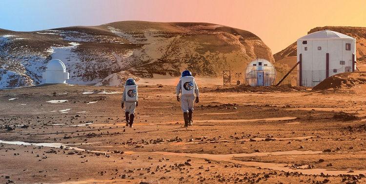 Mock Mars Habitat