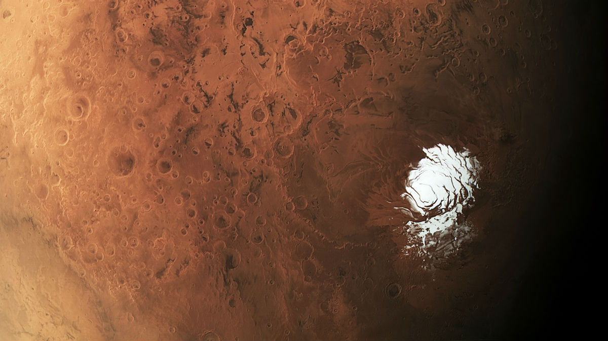 Red Mars in detail