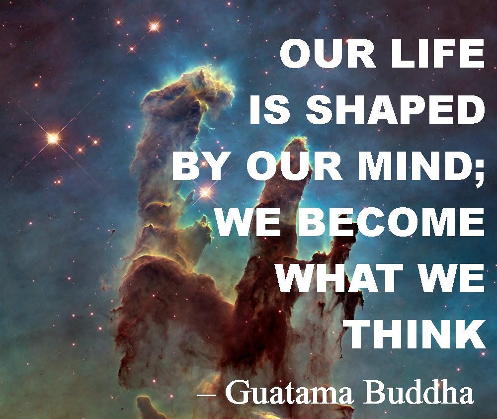 Guatama Buddha We become what we think