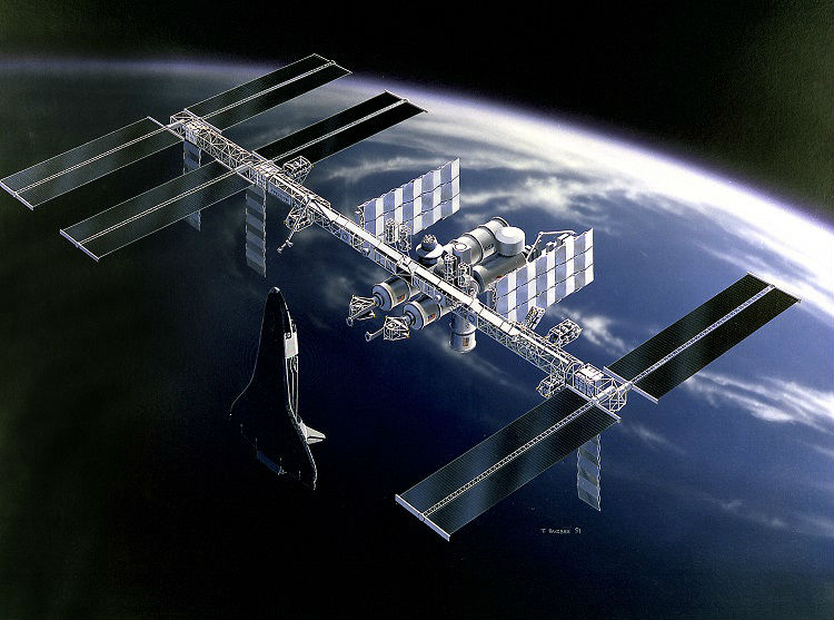 Space Station Freedom Concept Art