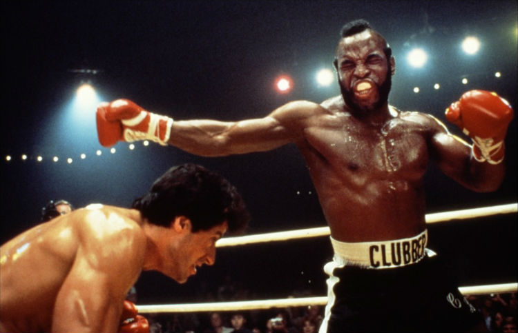 Rocky vs Clubber Lang