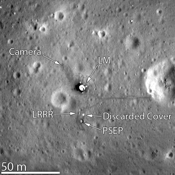 Apollo 11 from LRO