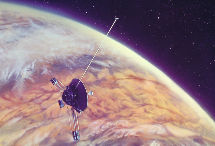 NASA Space Probe Artwork