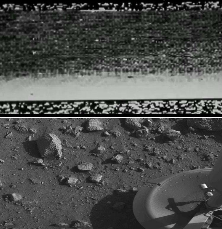 Mars 3 and Viking 1