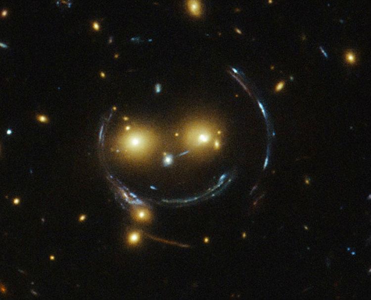 Gravitational Lens Smile