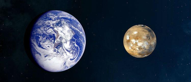 Mars Size