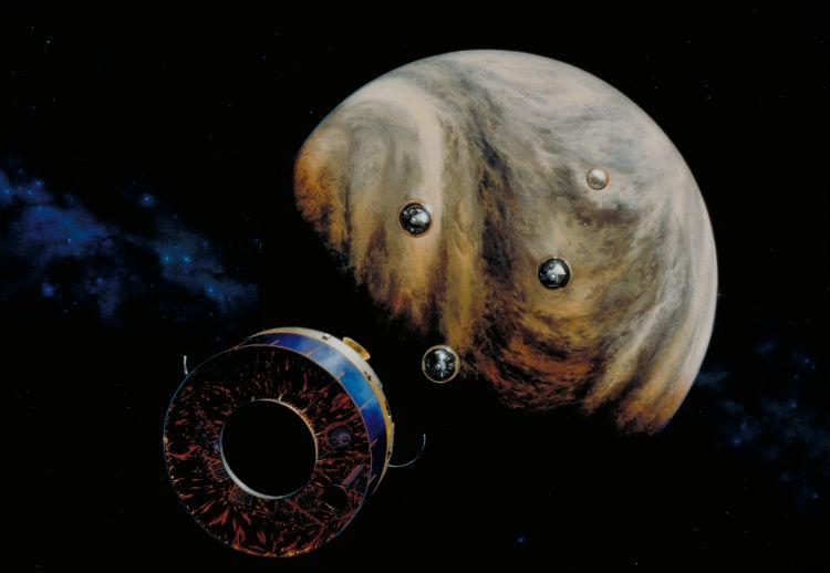Space Probe Artwork