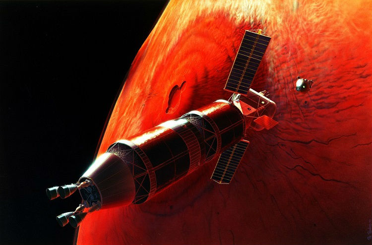 Mars Craft Artwork