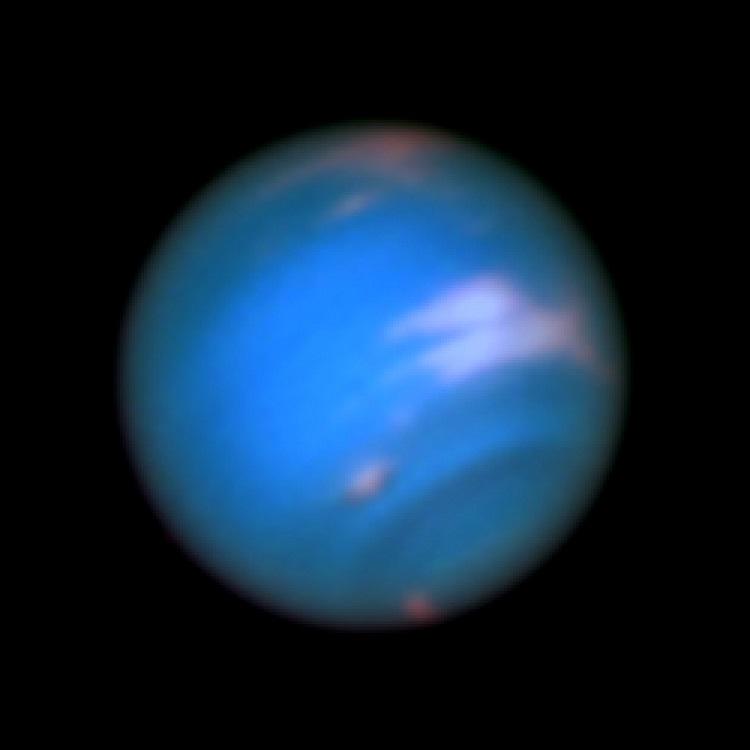 Neptune via Hubble
