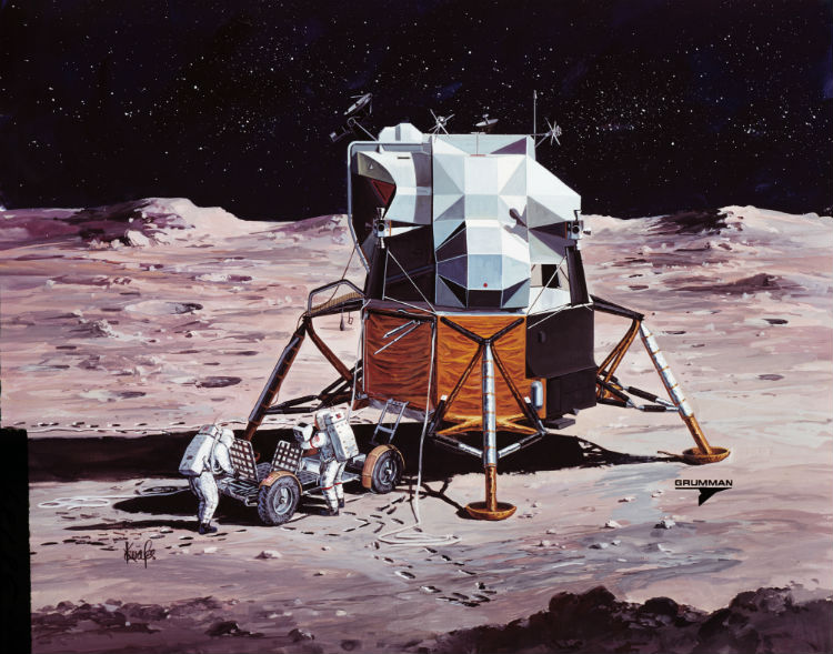 Apollo Lunar Module Artwork