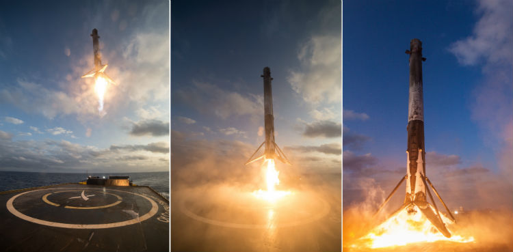 Falcon 9 Landings